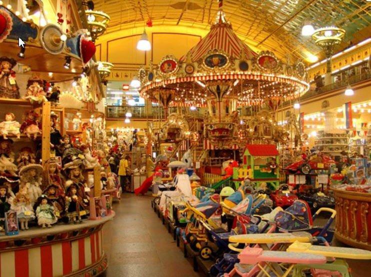 декор магазина игрушек