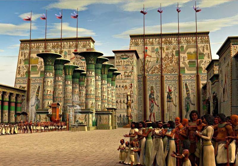 постройки древнего египта