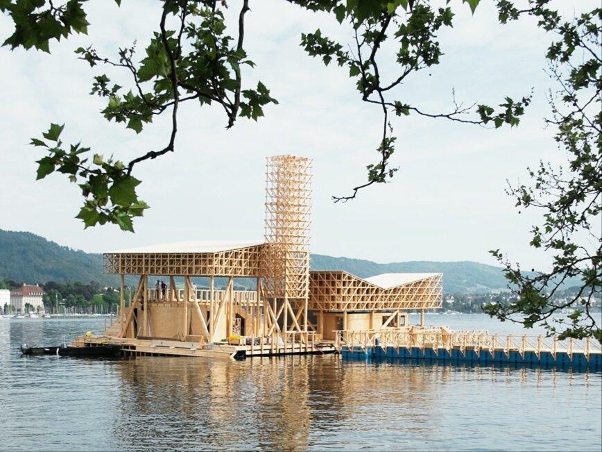 проект на швейцарском озере