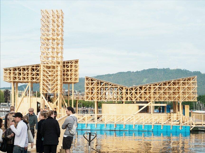 архитектурный проект в швейцарии