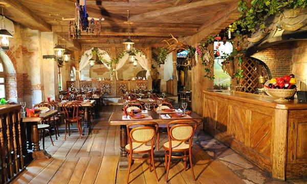 интерьер грузинского ресторана
