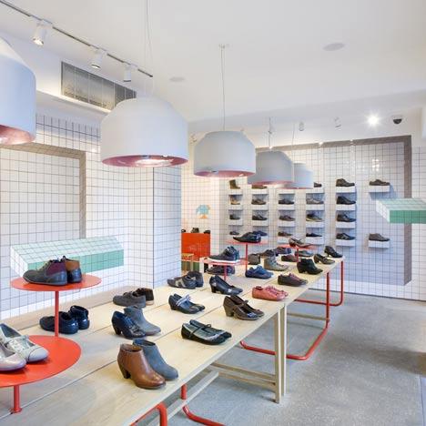 ремонт магазина обуви