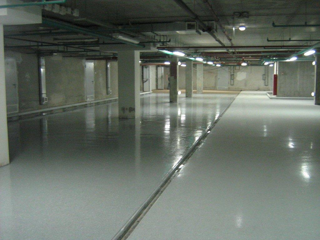 покрытие бетонного пола