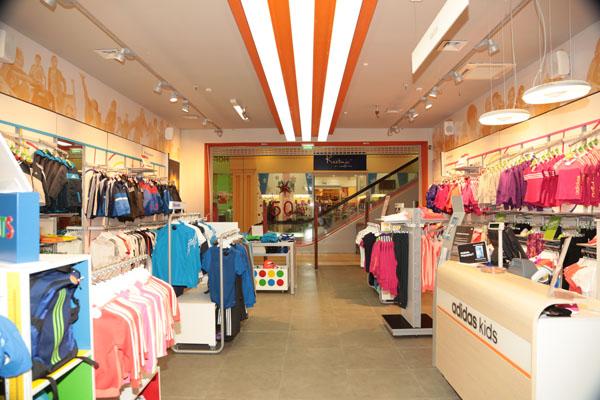 Ремонт магазина Adidas Kids