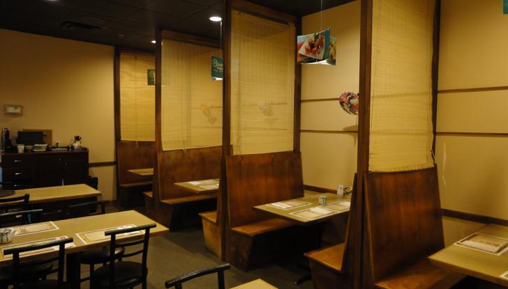 интерьер японского ресорана