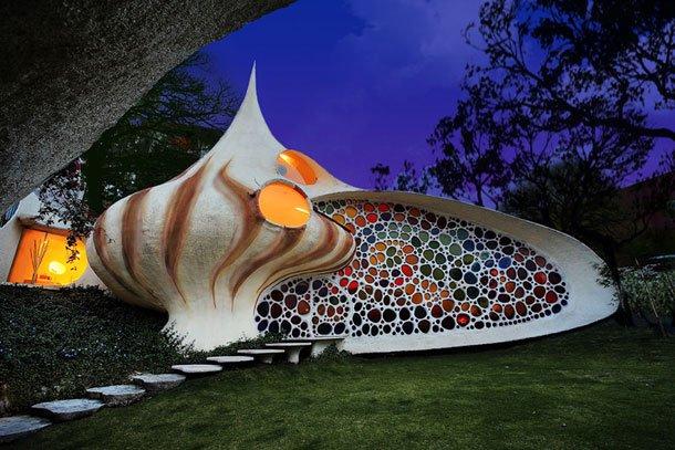 архитектура биодома наутилус