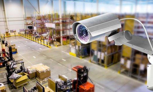 видеонаблюдение склада