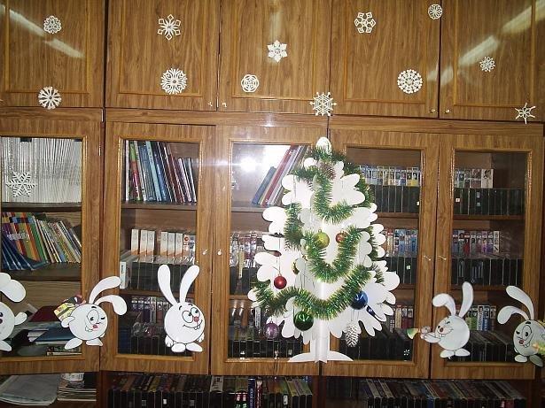 Новогодние украшения в офис своими руками фото