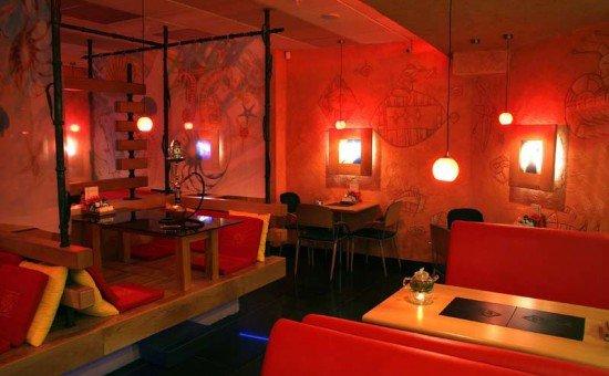 дизайн ресторана япония