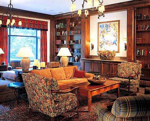 Английский дизайн интерьера комнаты