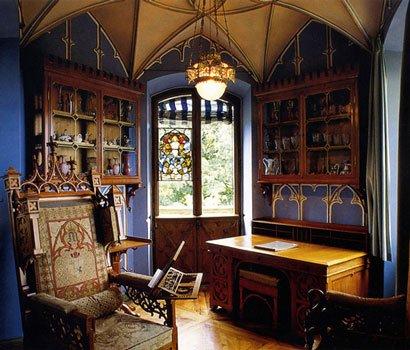дизайн интерьера в готическом стиле