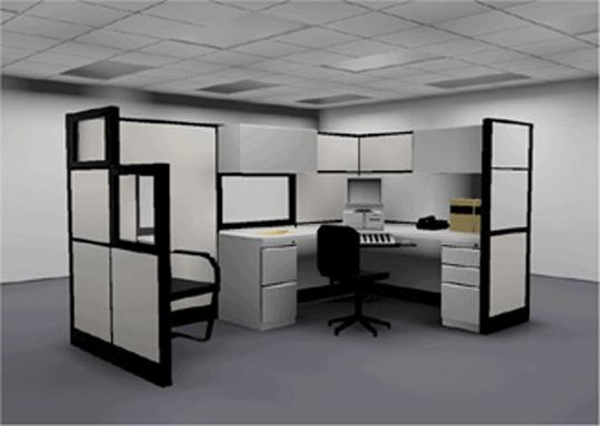 ремонт офиса перегородки