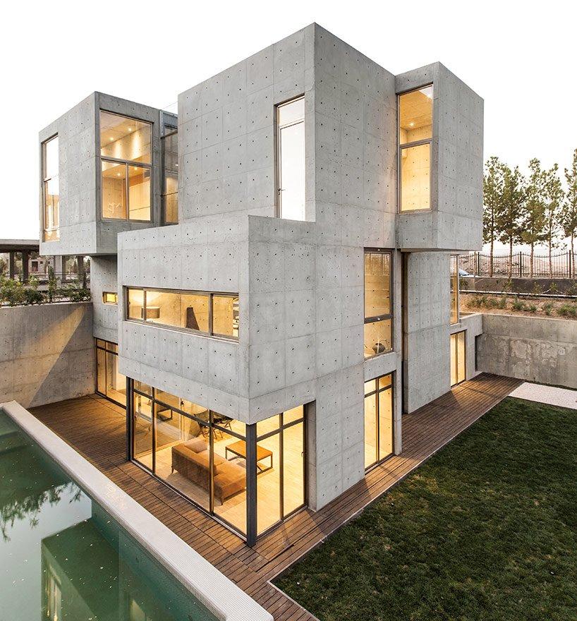 бетонные строения