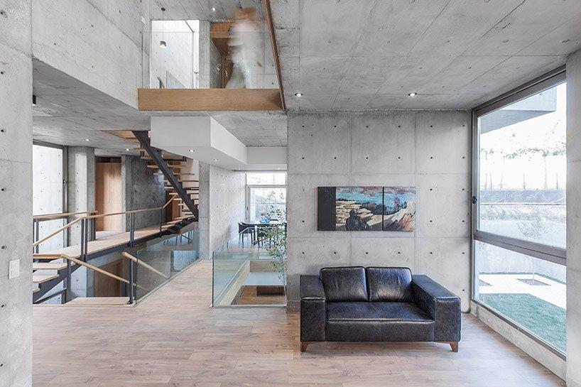 отделка бетоном