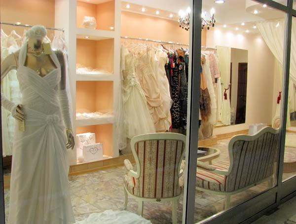ремонт свадебного бутика