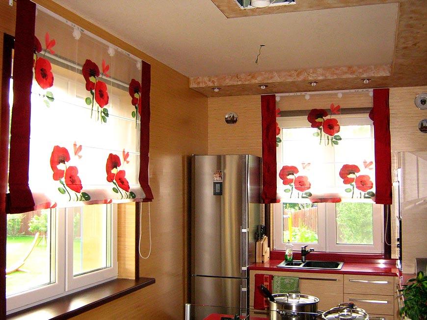 шторы отделка интерьера